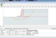 مدلسازی دیوار حائل ئزنی در نرم افزار Geo5