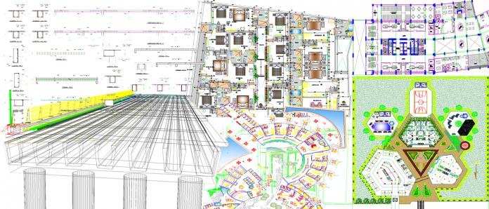 دانلود بزرگترین مجموعه نقشه های آماده 2بعدی و 3بعدی اتوکد (AutoCAD)