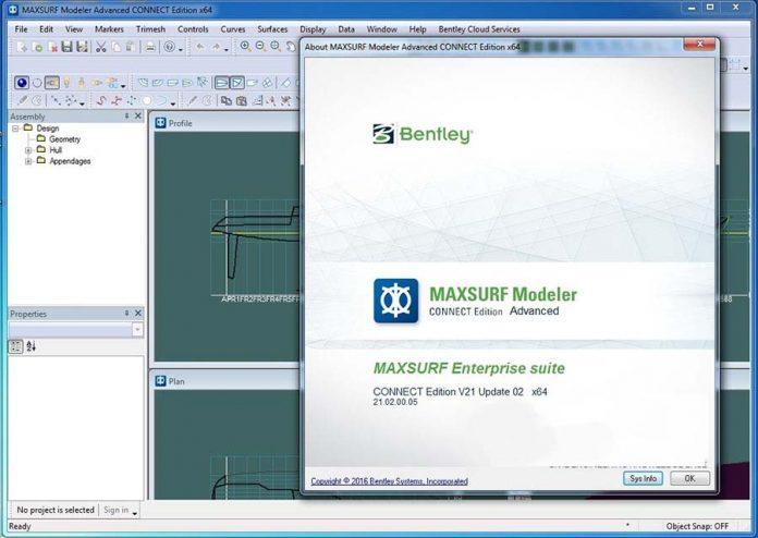 دانلود نرم افزار Maxsurf CONNECT Edition 21.02.00.05