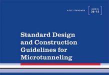دانلود کتاب استاندارد طراحی و دستورالعمل ساخت میکرو تونل ASCE/CI 36-15