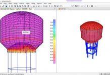 دانلود ویدیوی آموزش مدلسازی و طراحی مخزن آب هوایی در SAP 2000