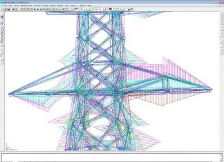 دانلودراهنمای نرم افزار MSTower طراحی دکل به همراه مثال اجرایی