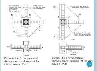 دانلودگزارش اثر آرماتورهای خمشی و برشی بر مقاومت پانچ دال های تخت