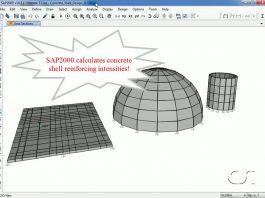 دانلود ویدیوی آموزشی طراحی پوسته های بتن مسلح در نرم افزار SAP2000