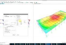 دانلودویدیوی آموزش نرم افزار SAP2000 - مدلسازی و بارگذاری و تحلیل دال های بتنی