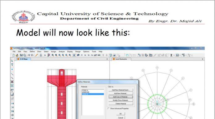 دانلودراهنمای طراحی سازه های عمرانی بکمک نرم افزارهای طراحی