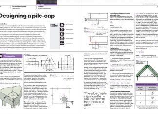 دانلودمقاله کاربردی در مورد نکات طراحی کلاهک شمع های بتنی