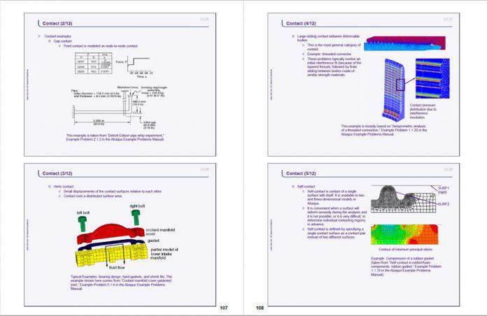 دانلودپرازنته معرفی تحلیل استاندارد و صریح در نرم افزار اجزای محدود Abaqus