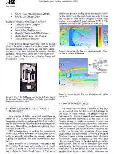 دانلودمقاله بررسی اثر نیروی باد بر ساختمانهای بلند