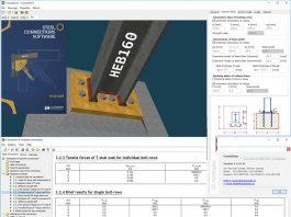 دانلودنرم افزار طراحی اتصالات پیچی LH Logismiki Steel Connections