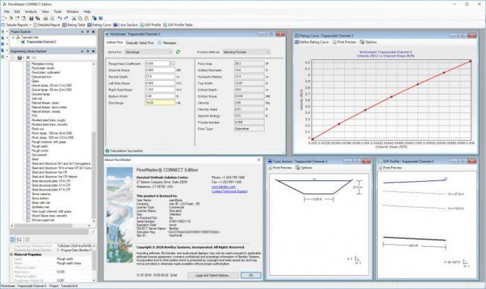 دانلودنرم افزار محاسبات هیدرولیک Bentley FlowMaster