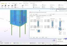 دانلودویدیوی آموزش تعیین آرایش آرماتورهای تیر و ستون بتنی در نرم افزار Tekla Structures