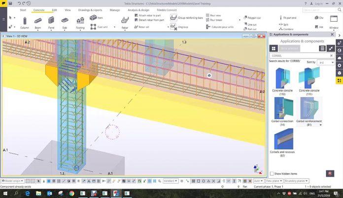دانلودویدیوی آموزش مقدماتی نرم افزار Tekla Structures