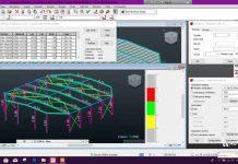 دانلود ویدیوی مدلسازی آنالیز و طراحی ساختمان صنعتی در نرم افزار Robot Structural