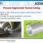 دانلود ویدیوی مروری بر سند ACI 544.7R-16 گزارش طراحی و ساخت سگمنتهای پیش ساخته تونل