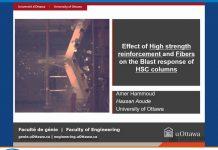 دانلود ویدیوی اثر الیاف و بتن مسلح پر مقاومت در ستونهای HSC تحت بار انفجار