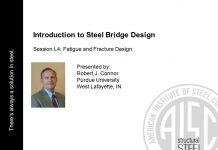 دانلود ویدیوی سخنرانی مباحث خستگی و شکستگی در پلهای فولادی در انجمن فولاد آمریکا