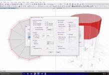 دانلود ویدیوی آموزش مدلسازی و تحلیل مخزن آب هوایی در نرم افزار ETABS