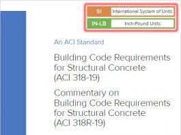 دانلود آیین نامه طراحی سازه های بتنی ACI 318-19