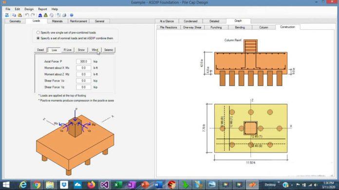 دانلود ویدیوی آموزش طراحی کلاهک گروه شمع (پایل کپ) در نرم افزار ASDIP