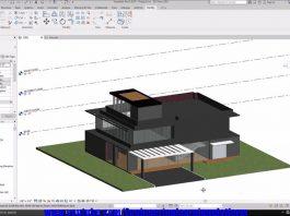 دانلود ویدیوی آموزش کامل مدلسازی ساختمان مدرن در نرم افزار Revit