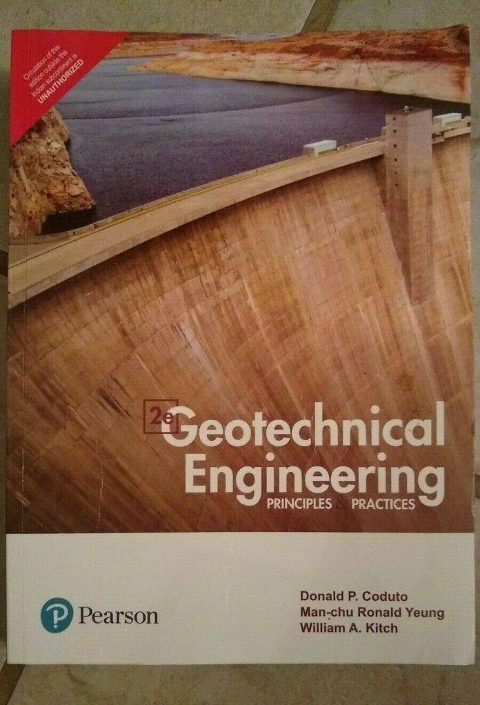 بهترین کتاب برای درک مفاهیم مهندسی پی و ژئوتکنیک Coduto