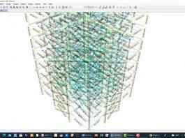 آموزش مدلسازی و طراحی ساختمان فلزی با مهاربند ضربدری در نرم افزار SAP2000
