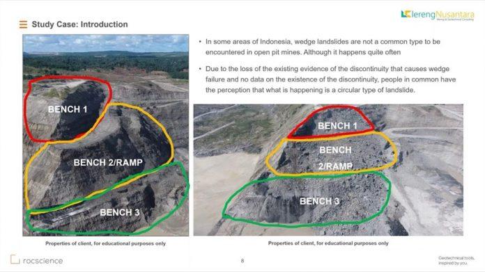 یدیوی آموزش مدلسازی و کنترل پایداری ترانشه های بزرگ در نرم افزار Rocscience Slide3 جهت سد سازی و معادن