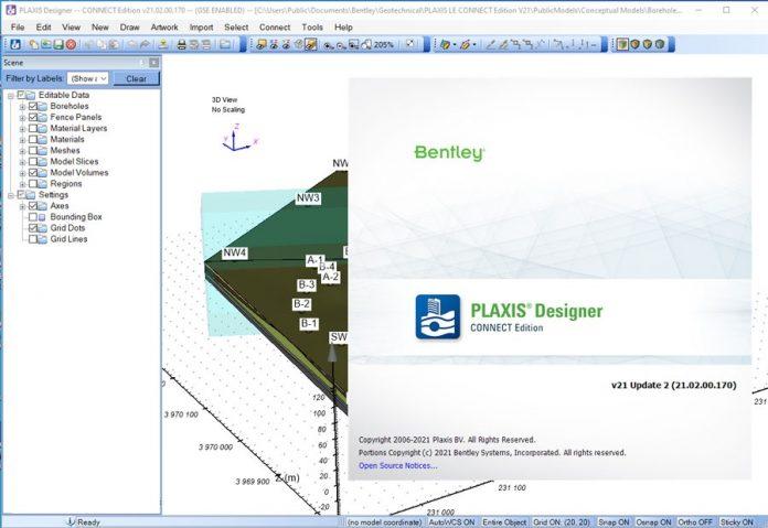 دانلود نرم افزار جامع تحلیل اجزای محدود مسائل مهندسی ژئوتکنیک PLAXIS LE CONNECT Edition V21